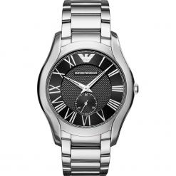 Zegarek EMPORIO ARMANI - Valente AR11086 Silver/Silver. Szare zegarki męskie Emporio Armani. Za 1249,00 zł.