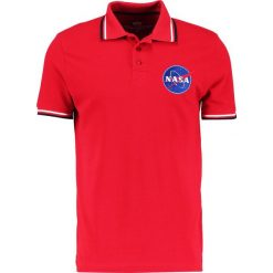 Koszulki polo: Alpha Industries NASA Koszulka polo speed red