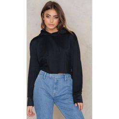 Bluzy rozpinane damskie: Cheap Monday Bluza z kapturem Attract - Black