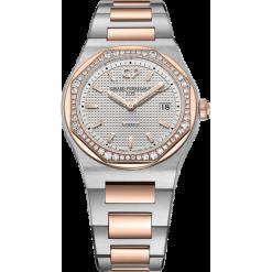 ZEGAREK GIRARD PERREGAUX LAUREATO 34 MM. Szare zegarki męskie GIRARD-PERREGAUX, szklane. Za 67890,00 zł.