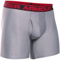 Bokserki męskie: Under Armour Bokserki The Original 6″ Boxerjock True Gray Heather Red S