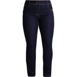 Boyfriendy damskie: Anna Field Curvy Jeansy Straight Leg dark blue denim