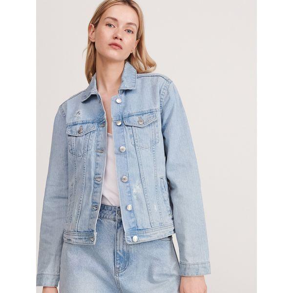 Kurtka jeansowa Niebieski