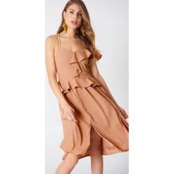 Sukienki: Aéryne Paris Sukienka Mila – Nude