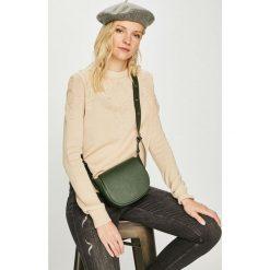 Answear - Torebka. Szare torebki klasyczne damskie ANSWEAR, w paski, ze skóry, małe. Za 189,90 zł.
