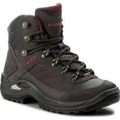 Trekkingi LOWA - Taurus Gtx Mid Ws GORE-TEX 320552  Anthrazit/Beere 9756. Szare buty trekkingowe damskie Lowa. W wyprzedaży za 499,00 zł.