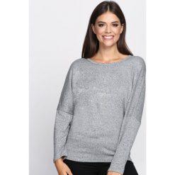Swetry klasyczne damskie: Szary Sweter That I Know