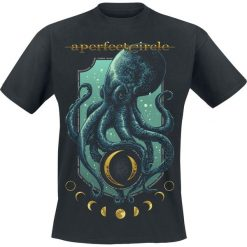 T-shirty męskie z nadrukiem: A Perfect Circle Moon Oracle T-Shirt czarny