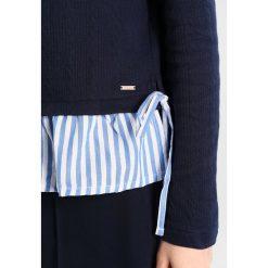 Bluzki asymetryczne: TOM TAILOR DENIM Bluzka z długim rękawem real navy blue