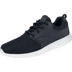 Urban Classics Light Runner Buty sportowe czarny/biały. Czarne buty sportowe męskie marki Urban Classics, z aplikacjami, z materiału. Za 121,90 zł.