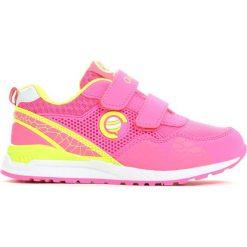 Różowe Buty Sportowe Plumy. Czerwone buty sportowe dziewczęce marki Born2be, ze skóry, z okrągłym noskiem, na rzepy. Za 69,99 zł.