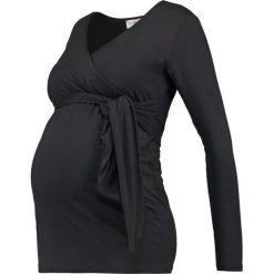 Bluzki asymetryczne: Envie de Fraise JESSICA Bluzka z długim rękawem black