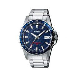 Zegarek Casio Zegarek męski Buntil stal szlachetna MTP-1290D -2AVEF. Szare zegarki męskie CASIO, ze stali. Za 238,00 zł.