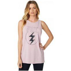 T-shirty damskie: FOX Koszulka Bez Rękawów Damska Repented Aiirline S Fioletowy