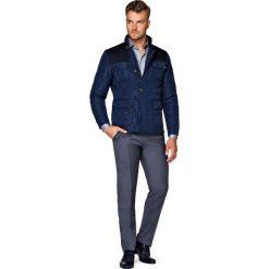 Kurtka Granatowa Foxford. Czarne kurtki męskie pikowane marki LANCERTO, na jesień, m, z materiału, casualowe. W wyprzedaży za 499,90 zł.