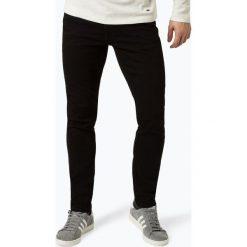 Finshley & Harding - Jeansy męskie – Black Label, czarny. Czarne jeansy męskie z dziurami marki Finshley & Harding. Za 299,95 zł.