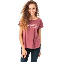 4f Koszulka damska H4Z18-TSD006 bordowa r. S. Czerwone bluzki z odkrytymi ramionami marki 4f, s. Za 45,99 zł.