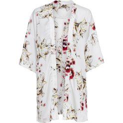 Żakiet w kwiatowy deseń bonprix biel wełny w kwiaty. Białe marynarki i żakiety damskie marki bonprix, w kwiaty, z wełny. Za 54,99 zł.