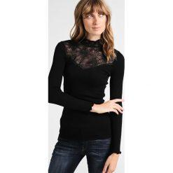 Bluzki asymetryczne: Rosemunde TURTLENECK REGULAR Bluzka z długim rękawem black