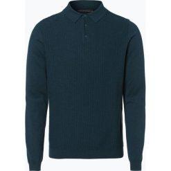 Swetry męskie: Finshley & Harding - Sweter męski, niebieski