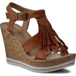 Sandały damskie: Sandały QUAZI - D117 Camel