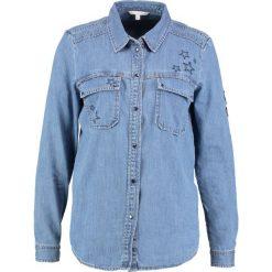 Koszule wiązane damskie: TOM TAILOR DENIM Koszula mid stone bright blue denim