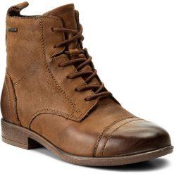 Botki LASOCKI - WI16-ENNA-01 Brązowy. Brązowe buty zimowe damskie Lasocki, z materiału, na obcasie. Za 199,99 zł.