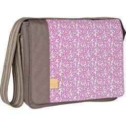 """Torebki klasyczne damskie: Torba """"Messenger Bag"""" w kolorze brązowo-jasnoróżowym – 36,5 x 31,5 x 14 cm"""
