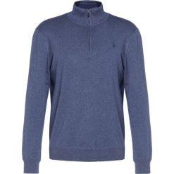 Polo Ralph Lauren Sweter supply blue heather. Niebieskie swetry klasyczne męskie marki Polo Ralph Lauren, m, z bawełny, polo. W wyprzedaży za 345,95 zł.