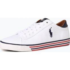 Polo Ralph Lauren - Tenisówki męskie, czarny. Czarne tenisówki męskie Polo Ralph Lauren, w paski, z gumy, z paskami. Za 299,95 zł.