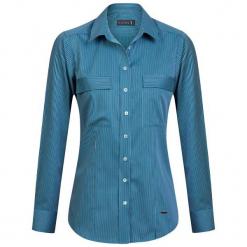 Sir Raymond Tailor Koszula Damska L Niebieski. Niebieskie koszule damskie Sir Raymond Tailor, l, z bawełny, eleganckie. Za 159,00 zł.