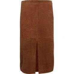 Spódniczki ołówkowe: Second Female PERKIN  Spódnica ołówkowa  caramel cafe