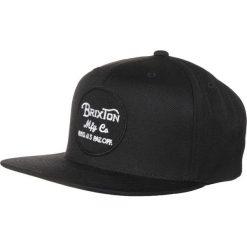 Czapki męskie: Brixton WHEELER SNAP BACK Czapka z daszkiem black