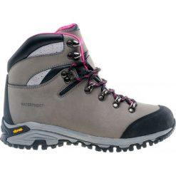Buty trekkingowe damskie: Hi-tec Buty damskie Sajama grey/light fuchsia/black r. 40