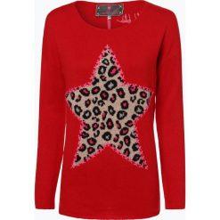 Lieblingsstück - Sweter damski, czerwony. Czerwone swetry klasyczne damskie Lieblingsstück, z dzianiny, z dekoltem na plecach. Za 699,95 zł.