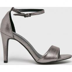 Answear - Sandały Anne Michelle. Szare sandały damskie marki ANSWEAR, z gumy. W wyprzedaży za 99,90 zł.