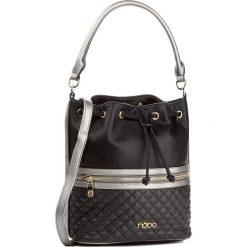 Torebka NOBO - NBAG-D2730-C020  Czarny. Czarne torebki worki marki Nobo, ze skóry ekologicznej. W wyprzedaży za 139,00 zł.