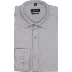 Koszula bexley 2631 długi rękaw custom fit szary. Szare koszule męskie marki Recman, na lato, l, w kratkę, button down, z krótkim rękawem. Za 149,00 zł.