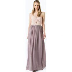 Marie Lund - Damska sukienka wieczorowa, różowy. Długie sukienki Marie Lund, z szyfonu, wizytowe, z długim rękawem. Za 749,95 zł.