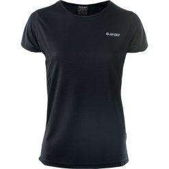 Odzież sportowa damska: Hi-tec Koszulka Sportowa Damska Lady Doren Black/Beetroot Purple r. S