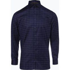 OLYMP No. Six - Koszula męska łatwa w prasowaniu, niebieski. Niebieskie koszule męskie non-iron marki OLYMP No. Six, m, w kratkę. Za 249,95 zł.