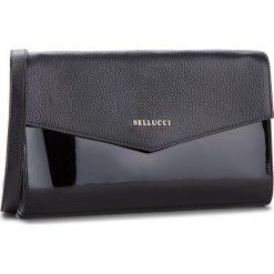 Torebka BELLUCCI - R-391 Czarna Groszek/Lak. Czarne torebki klasyczne damskie marki Bellucci. W wyprzedaży za 209,00 zł.