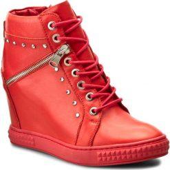 Sneakersy CARINII - B3254 H54-000-000-B88. Czerwone sneakersy damskie Carinii, z materiału. W wyprzedaży za 249,00 zł.