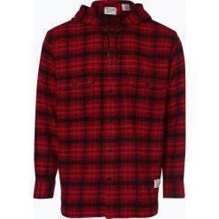 Levi's - Koszula męska – Justin Timberlake, czerwony. Brązowe koszule męskie marki Levi's®, l, w kratkę, z bawełny, button down, z długim rękawem. Za 329,95 zł.