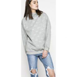 Adidas Originals - Bluza. Szare bluzy rozpinane damskie adidas Originals, z dzianiny, bez kaptura. W wyprzedaży za 199,90 zł.