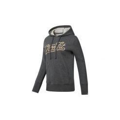 Bluzy Reebok Sport  Bluza z kapturem  CrossFit Script. Szare bluzy sportowe damskie Reebok Sport, l, z kapturem. Za 249,00 zł.