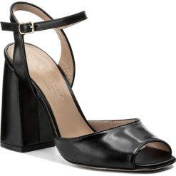Rzymianki damskie: Sandały WEEKEND MAXMARA – Modane 55212184600 Nero 002