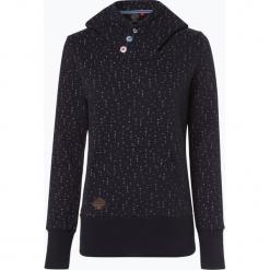 Ragwear - Damska bluza nierozpinana – Chelsea Hearts, niebieski. Niebieskie bluzy damskie marki Ragwear, m. Za 309,95 zł.