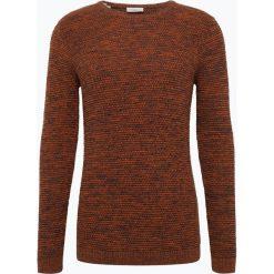 Selected - Sweter męski, beżowy. Szare swetry klasyczne męskie marki Selected, l, z materiału. Za 149,95 zł.