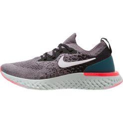 Nike Performance EPIC REACT FLYKNIT Obuwie do biegania treningowe gunsmoke/white/black/geode teal/hot punch. Szare buty do biegania damskie Nike Performance, z materiału. Za 629,00 zł.